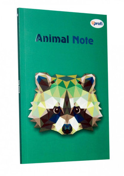 Блокнот Profiplan Animal note, B6 green, 80 страниц