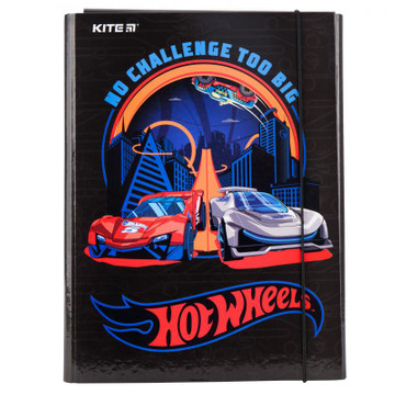 Папка для труда А4 KITE Hot Wheels hw19-213