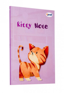 Блокнот Profiplan Kitty Note B6, lilac, 80 страниц