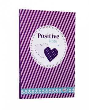 Блокнот Profiplan Positive Note B6, green, 128 стр