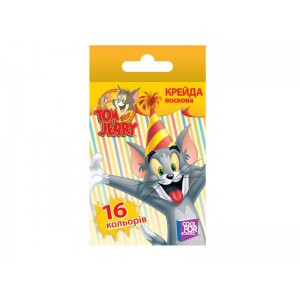 Мелки восковые COOL FOR SCHOOL Tom and Jerry TJ02637, 16шт