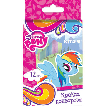 Мел цветной Kite Little Pony LР17-075, 12 штук